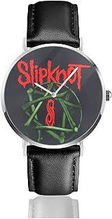 腕時計 メンズ レディース Slipknot 生活防水 ファッション 超薄型 マルチ機能 男性女性用 懐中時計 父の日 ウォッチク