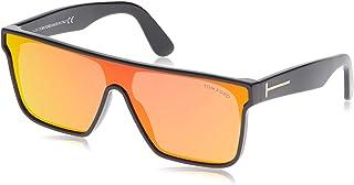 Tom Ford Men's Sunglasses Wayfarer FT0709 Black/Red