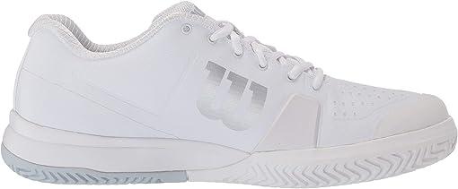 White/White/Pearl Blue