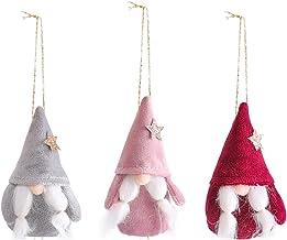 Ganghuo Pluche gezichtsloze kabouter pop mooie kerstboom ornamenten voor thuis woonkamer tuin decoratie