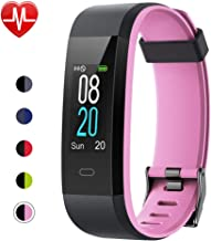 Willful Fitness Tracker with Heart Rate Monitor, Activity Tracker Pedometer with Step Counter Sleep Monitor 14 Sports Tracking,Color Screen IP68 Waterproof,Fitness Watch for Women Men Kids