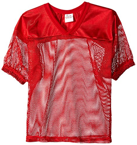 ADAMS USA FB Jersey with Elastic Sleeve, Scarlet, XX-Large