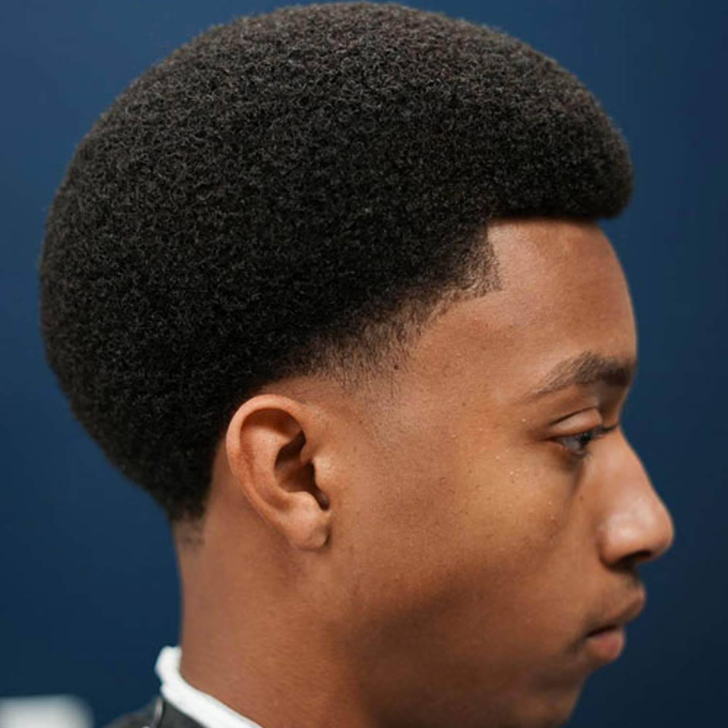 Afro men with 50 Short