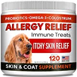 Effective Allergy Relief: These dog allergy bites help protect dogs' immune system from seasonal, food and environmental allergies, relieving excessive itching, redness, sneezing, skin irritation, scratching, chewing paws or other allergy symptoms. D...