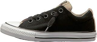 c1b14c11d4d8dc Converse Youth Kids Street Slip On Shoes Black Vintage Khaki All Star  Sneakers