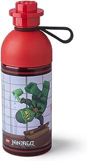 LEGO 40421733 Ninjago Hydration Bottle 17 oz, Transparent Red