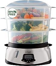 Russell Hobbs Cuiseur Vapeur 10,5L, Digital, Programmable, Cuisson Légumes, Riz, Œufs, Compatible Lave-Vaisselle - 23560-5...