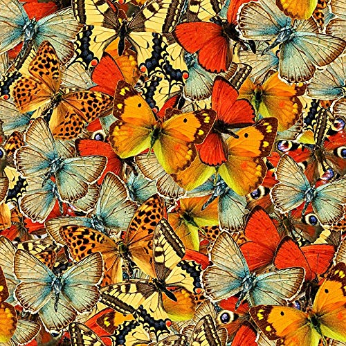 Wooden Jigsaw Puzzles for Adults - Beautiful Butterflies - 145 Pieces by Nautilus Puzzles. Made in USA.