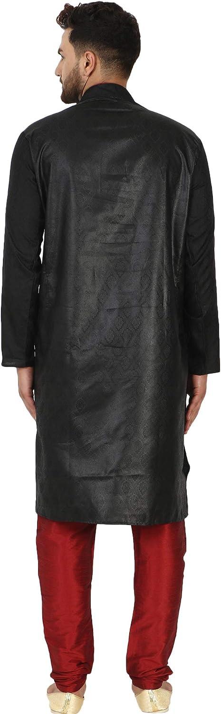SKAVIJ Kurta Pyjama Robe De F/ête Mariage Hommes