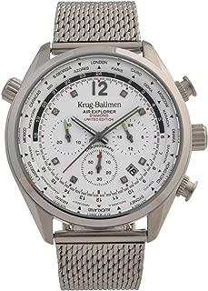 Krug-Baumen 100400DM Mens Air Explorer Diamond Limited Edition Watch