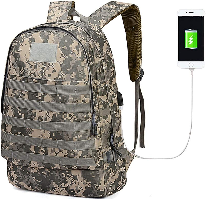 OCCMFZD USB Rucksack Large Capacity Camouflage College Wind Rucksack Im Freien Reise Rucksack Wandern Rucksack B07G72159H  Am wirtschaftlichsten