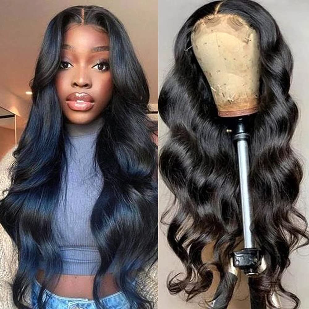 Lace Front Wigs Human Hair for Large discharge sale Wi Body Black Women Wave Glueless Industry No. 1