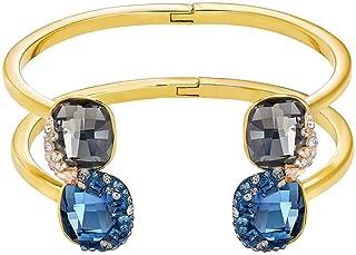 Swarovski Women Metal and Crystals Cuff Bracelet - 5226098