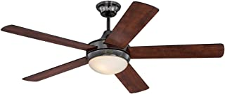Westinghouse Lighting 7201100 Zander 52-Inch Reversible Five-Blade Indoor Ceiling Fan , Gun Metal