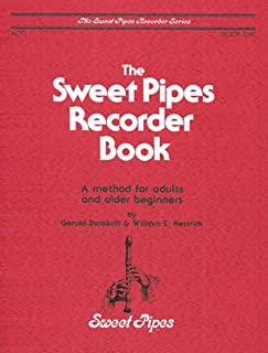 sweet pipes recorder book
