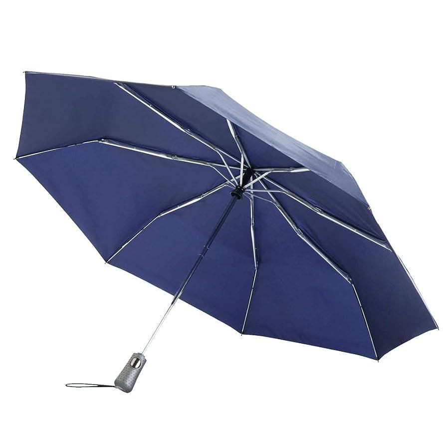 コメンテーター見つけたキートーツ totes ワンタッチ式 折りたたみ傘 #7550 NAVY