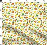 Zitrone, Orangen, Grün Und Gelb Stoffe - Individuell