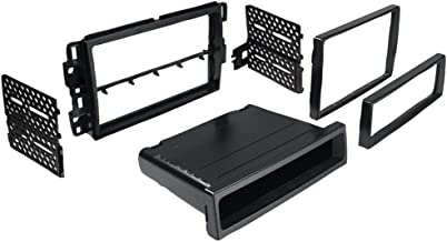 BEST KITS BKGMK317 In-Dash Installation Kit (Chevrolet(R) Suburban/Tahoe 2007 - 2013 & Impala/Monte Carlo 2006 - 2007 Double-DIN/Single-DIN with Pocket) Consumer electronic