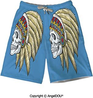 AngelDOU Casual Polyester Athletic Beach Short,Fitness,Sports and Healthcare ICO