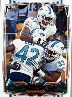 2014 Topps #94 Miami Dolphins Team Card NM-MT Dolphins