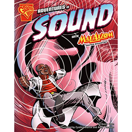 Adventures in Sound with Max Axiom, Super Scientist audiobook cover art