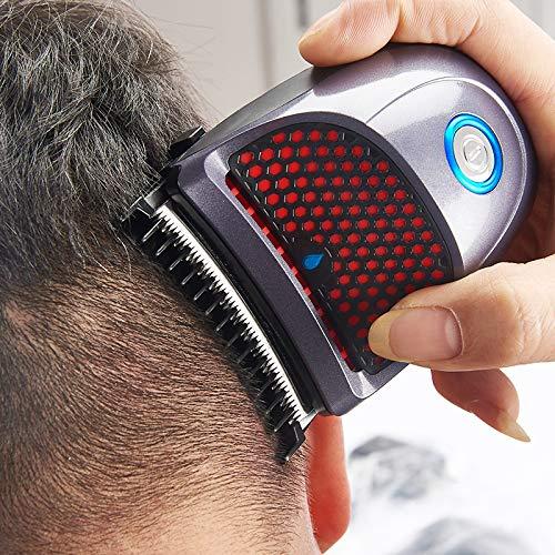 ZRSH Cheveux Clippers, Quick Cut Tondeuse À Cheveux Fil Rechargeable Électrique Rasoir Professionnel Barbe Rasoir à Trois Têtes,9 Limite Peigne Outils de Coiffure pour Hommes