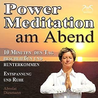 Power-Meditation am Abend Titelbild