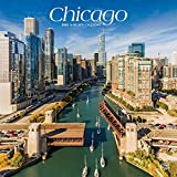 Chicago 2020 12 x 12 Inch Monthly Square Wall Calendar, USA United States of America Illinois Midwest City (English, Spanish and French Edition)