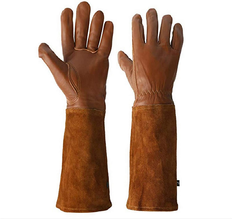 trend rank WMQ Long Sleeve Rose In a popularity Gardening Thorn Garden Resistant Gloves Gl