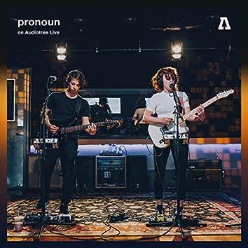 pronoun on Audiotree Live