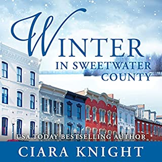 Winter in Sweetwater County                   By:                                                                                                                                 Ciara Knight                               Narrated by:                                                                                                                                 Lisa Baarns                      Length: 5 hrs and 2 mins     73 ratings     Overall 4.0
