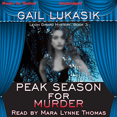 Peak Season for Murder audiobook cover art