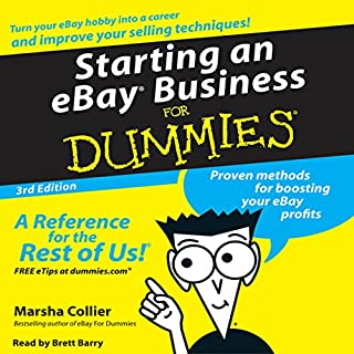 Starting an eBay Business for Dummies audiobook cover art