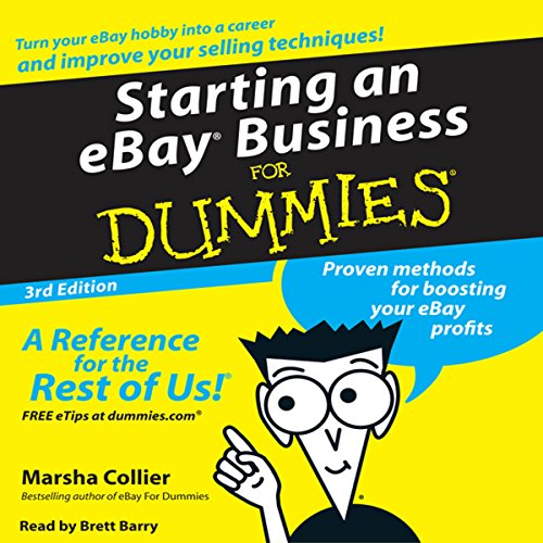 Amazon Com Starting An Ebay Business For Dummies Audible Audio Edition Marsha Collier Brett Barry Harperaudio Audible Audiobooks