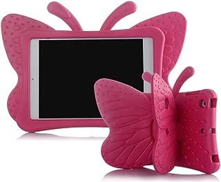 Ipad 2 3 4 Case,ER CHEN Kids Light Weight Cute Butterfly Design Shock Proof EVA Foam Series Case for Ipad 2/3/4(Rose)
