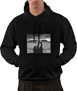 NA Mens U2 - Joshua Tree Classic Black Hooded Sweatshirt