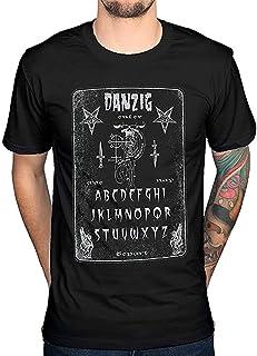 Danzig ヒップホップ ロック 流行 欧米風 音楽 メンズ/レディース Tシャツ 夏服 半袖 シャツ