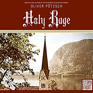 Holy Rage audiobook cover art