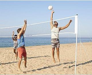 Volleyball Nets Badminton Net Tennis Soccer Tennis Pickleball Nets Garden Schoolyard Backyard Beach Driveway Outdoor Indoor Practice Net Competition Training Net Outdoor Court Sport with Carrying Bag