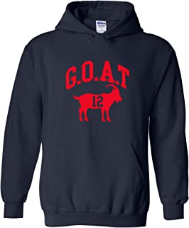 tb12 goat hoodie