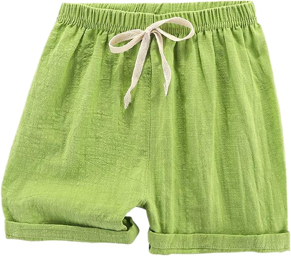 JanLEESi Toddler Baby Boys Shorts Knee Length Shorts Harem Pants