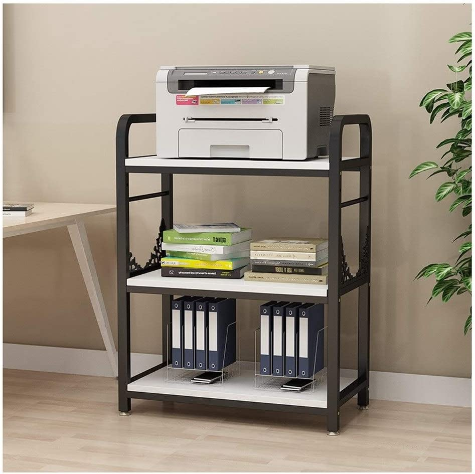 YCSX Desk Side Printer Stand Fax Max Limited time trial price 41% OFF 3 Tiers Sto