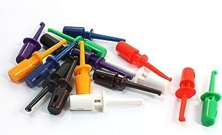 uxcell フックのテスト メタル プラスチック製 絶縁 リッドフッククリップテスト 電子テスト