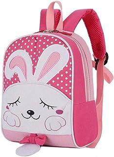 DJASM Cartoon Backpack - Children's Anti-lost Waterproof School Bag Large Capacity Kindergarten Campus Mini Travel Rucksack
