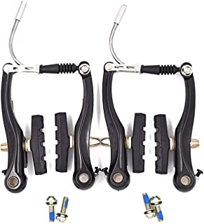 Bike Brakes Mountain Bike V Brakes Set Replacement Fit...