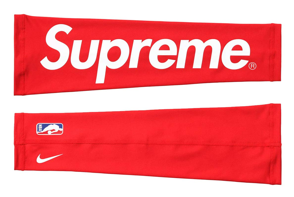 Red, S//M Supreme Outdoor Sports Bike Cycling Compression Armband for Basketball Football Shooting Arms Protector Breathable Lycra UV Protection Arm Sleeve Hypebeast Red Black Mus 2 Pack Arm Sleeve
