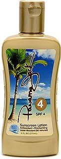 Panama Jack Sunscreen Tanning Lotion - SPF 4, Reef-Friendly, PABA, Paraben, Gluten & Cruelty Free, Antioxidant Moisturizin...