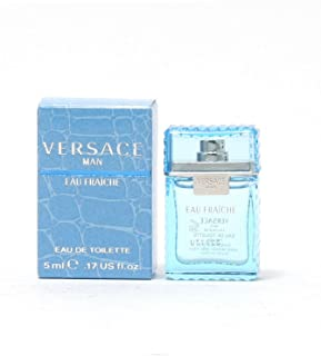 Eau Fraiche Miniture by Versace for Men - Eau de Toilette, 5 ml