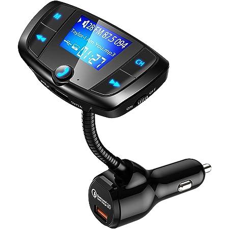Omorc Bluetooth Fm Transmitter Für Auto Adapter Für Ios Und Android Navigation