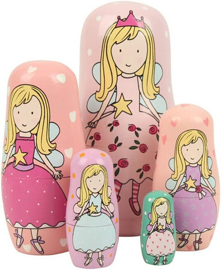 UNIGIFT Set of 5 Cutie Lovely Green Pink Cartoon Limited time trial price Pr Puprle Angel Virginia Beach Mall